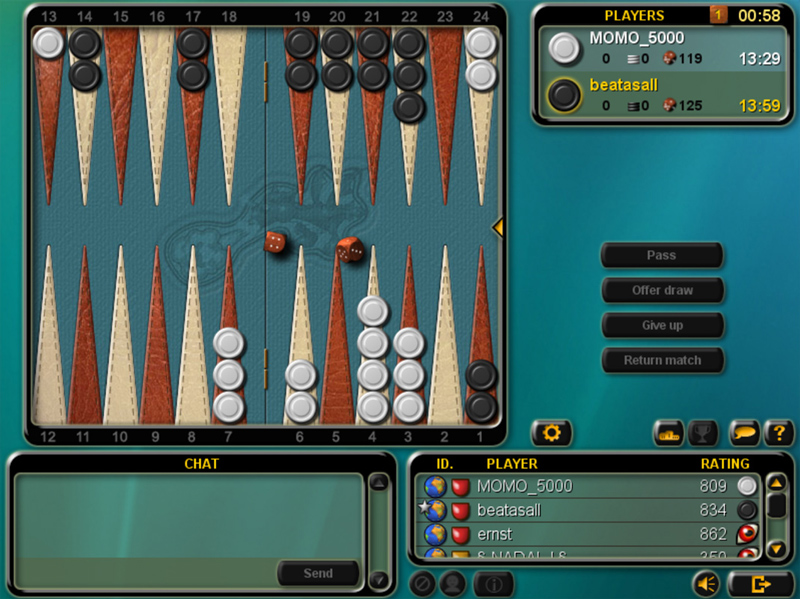 Internet Backgammon Spielen