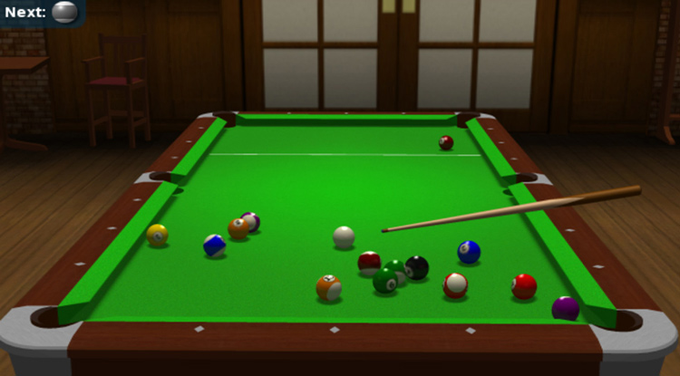 Free Snooker game - PoolManiac