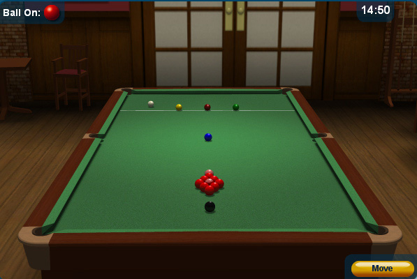 snooker games online play