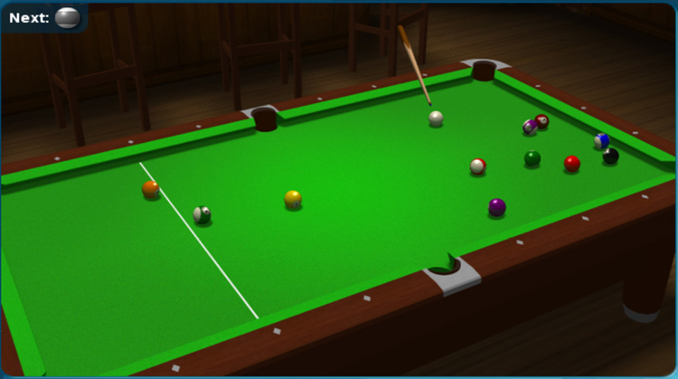 Pool Games For Free : Ball pool free d game
