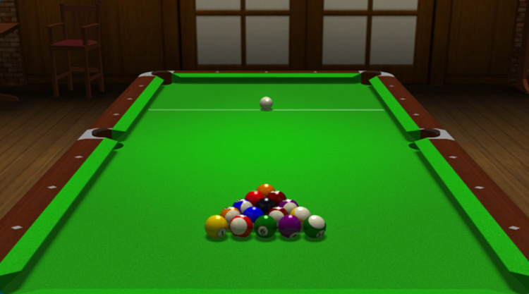 game billiard