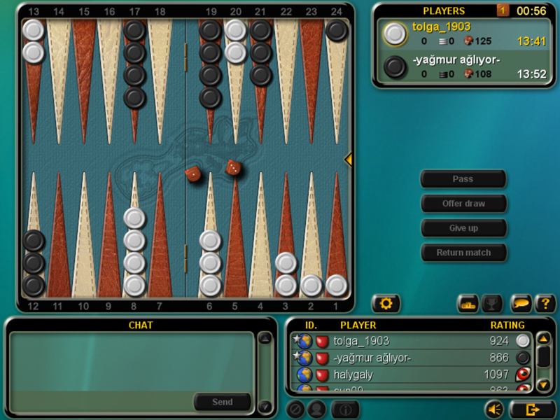 gioco backgammon gratis