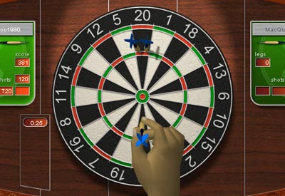 play darts online for free