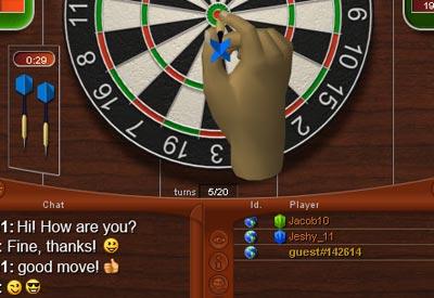 online darts cricket