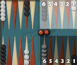 how to remember backgammon setup