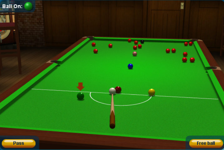 snooker free game online